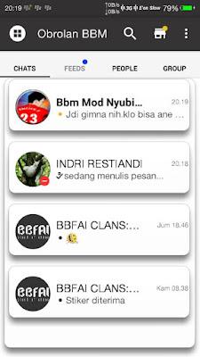 BBM Mod Minimal 0.3 base v2.13.1.14 Apk