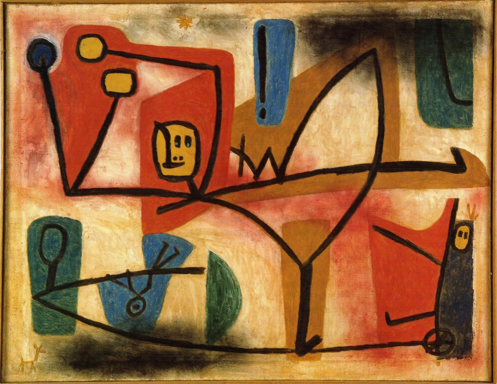 Paul Klee Pinturas Solitary Dog Sculptor I Painter Klee Paul Part 9 Links