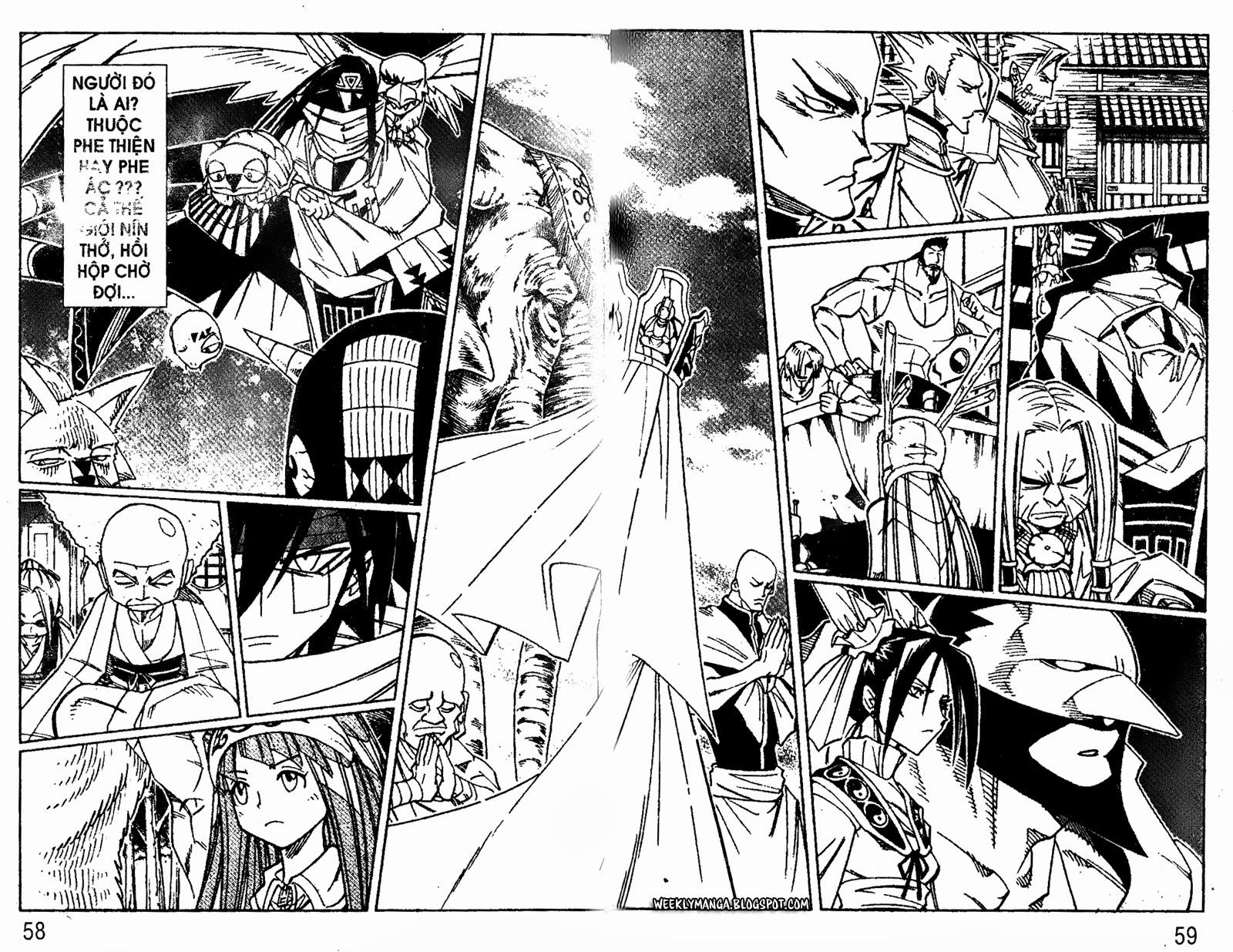 Shaman King [Vua pháp thuật] chap 162 trang 14