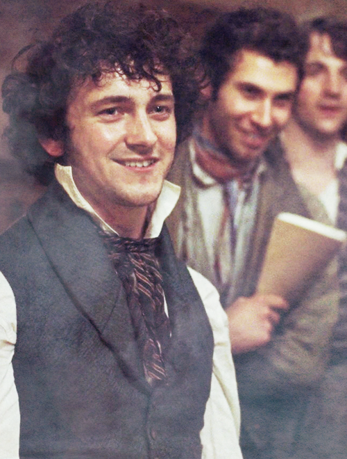 Grantaire GIFs - Find & Share on GIPHY  George Blagden Les Miserables Grantaire