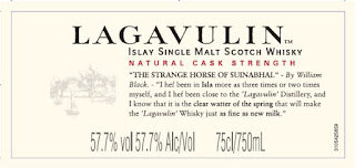 Lagavulin 12 Special Releases 2016 front label