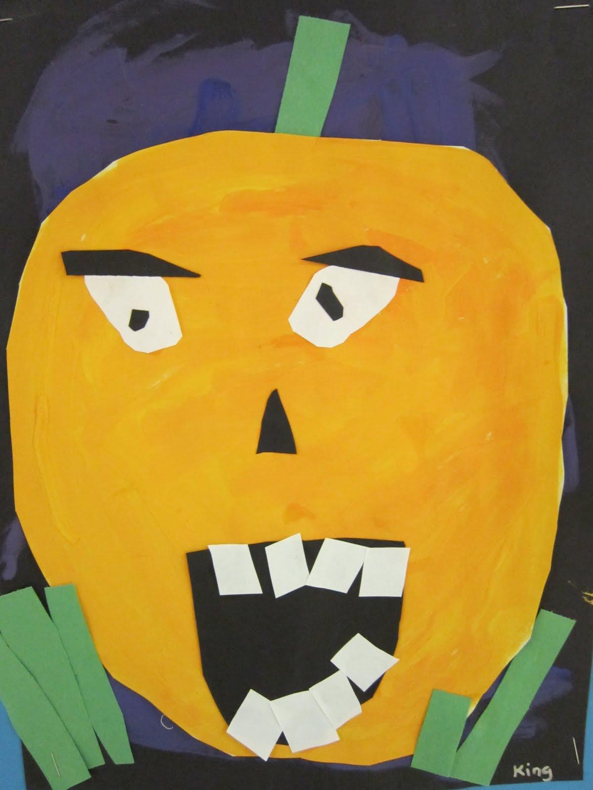 Color Craft Create 1st Grade Pumpkins