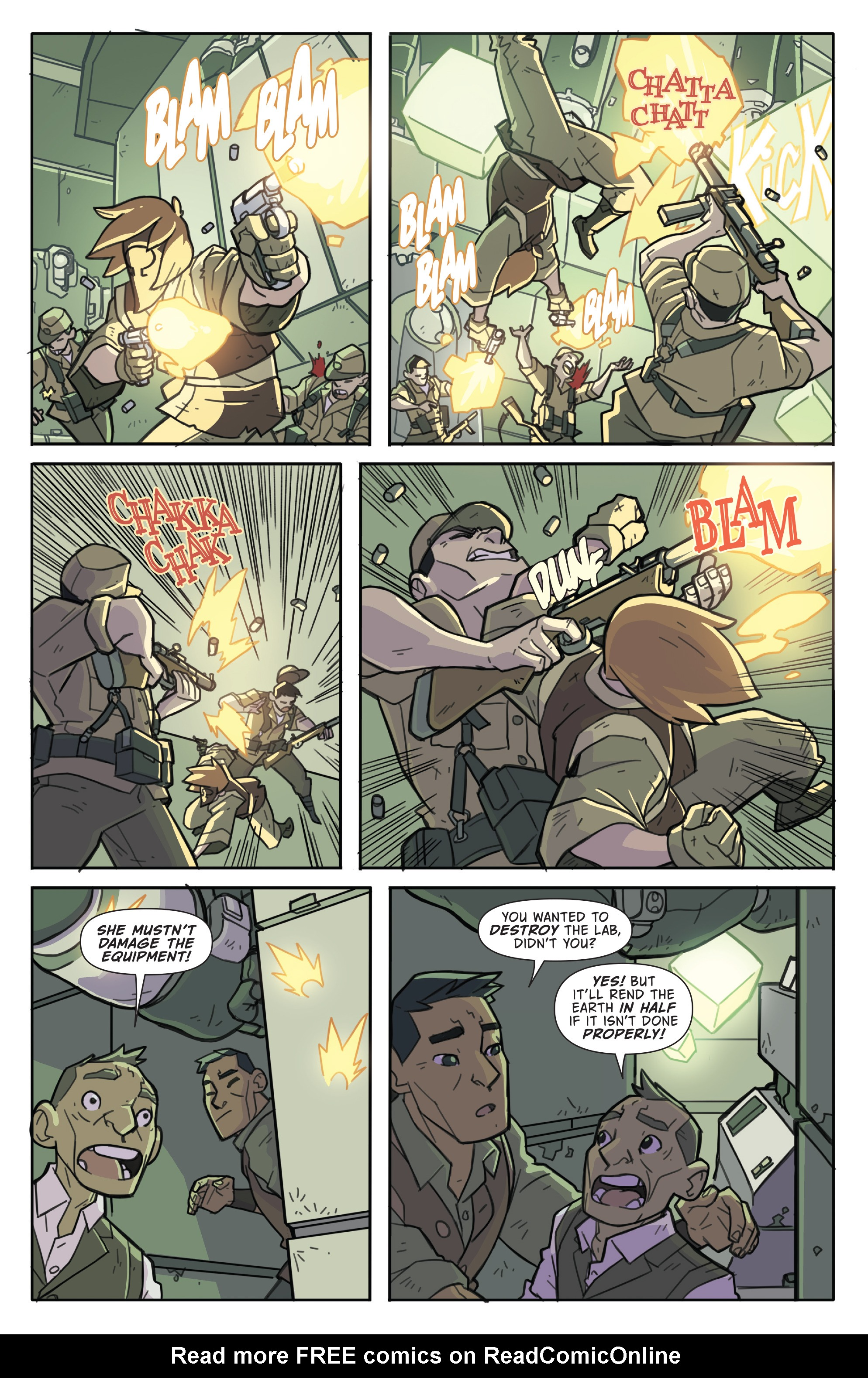 Read online Atomic Robo and the Temple of Od comic -  Issue #5 - 4
