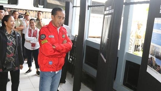 Jokowi Tinjau Pembangunan Rusun Untuk Para Santri di Garut