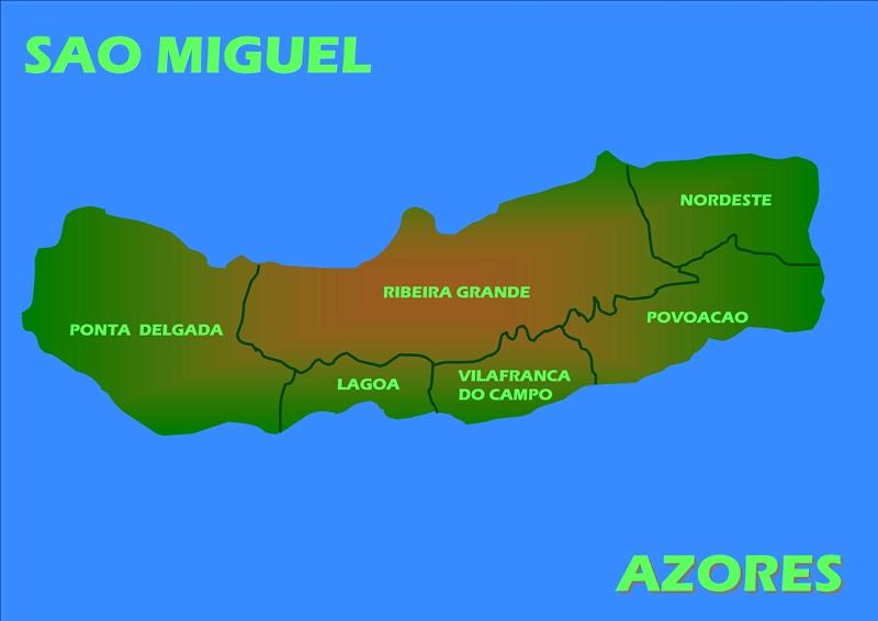 Isla De Sao Miguel
