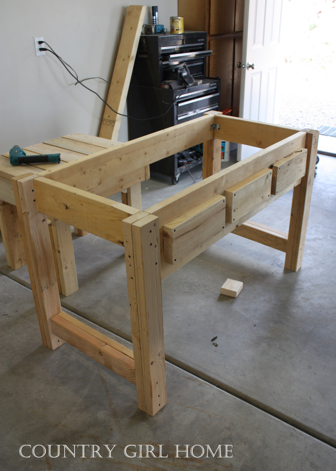 Building A Sofa Table Outdoor Furniture Country Girl Home My New Quothand Crafted Quot