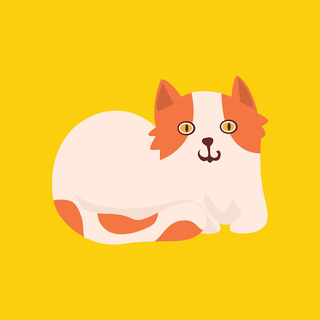 Cat, free vector, animal, clipart, clip art