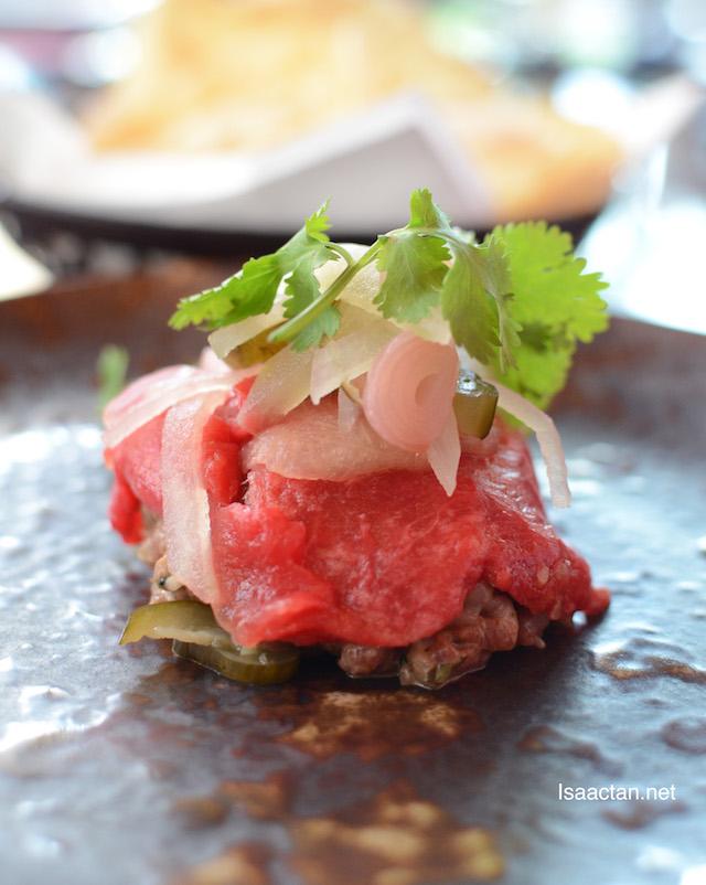 Wagyu Beef Tartare - RM78