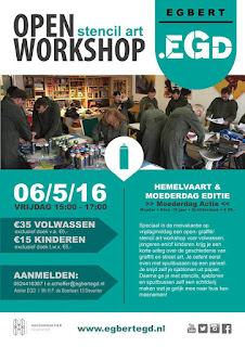 6/5 Moederdag editie: Open Workshop.EGD