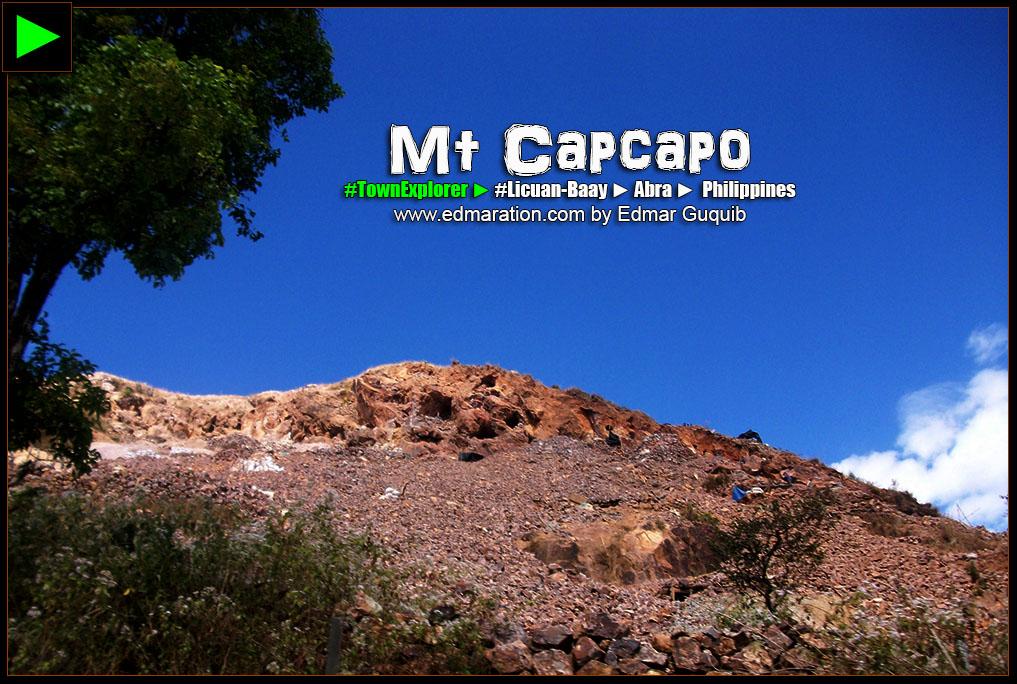 MOUNT CAPCAPO, LICUAN-BAAY