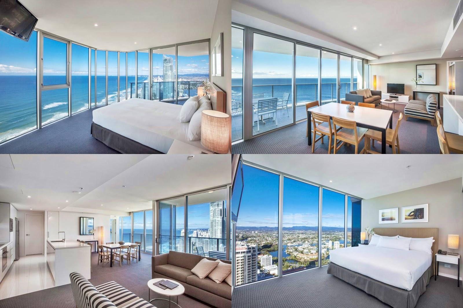 黃金海岸-住宿-推薦-飯店-酒店-旅館-民宿-公寓-希爾頓衝浪者天堂公寓酒店-Hilton-Surfers-Paradise-Residences-旅遊-澳洲-Gold-Coast-Hotel-Apartment-Australia