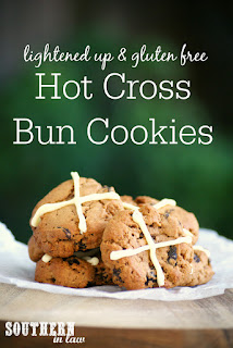 Gluten Free Hot Cross Bun Cookies Recipe