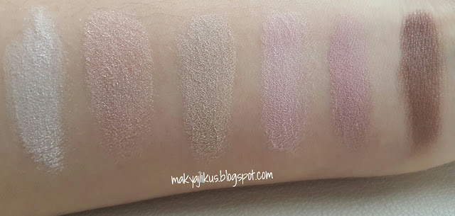 Maybelline Newyork the Blushed Nudes Eyeshadow Palette