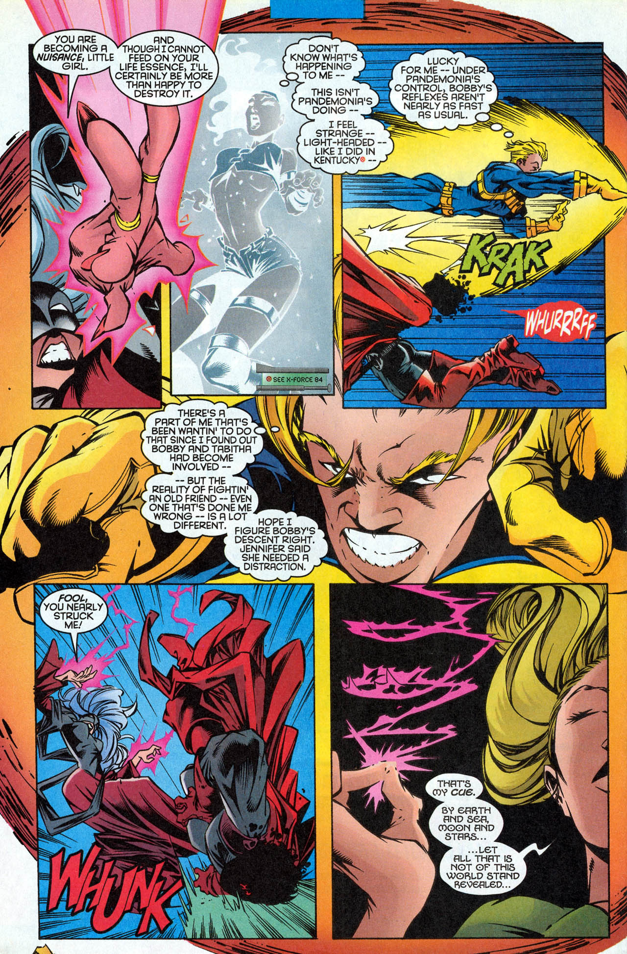 Read online X-Force (1991) comic -  Issue #85 - 34
