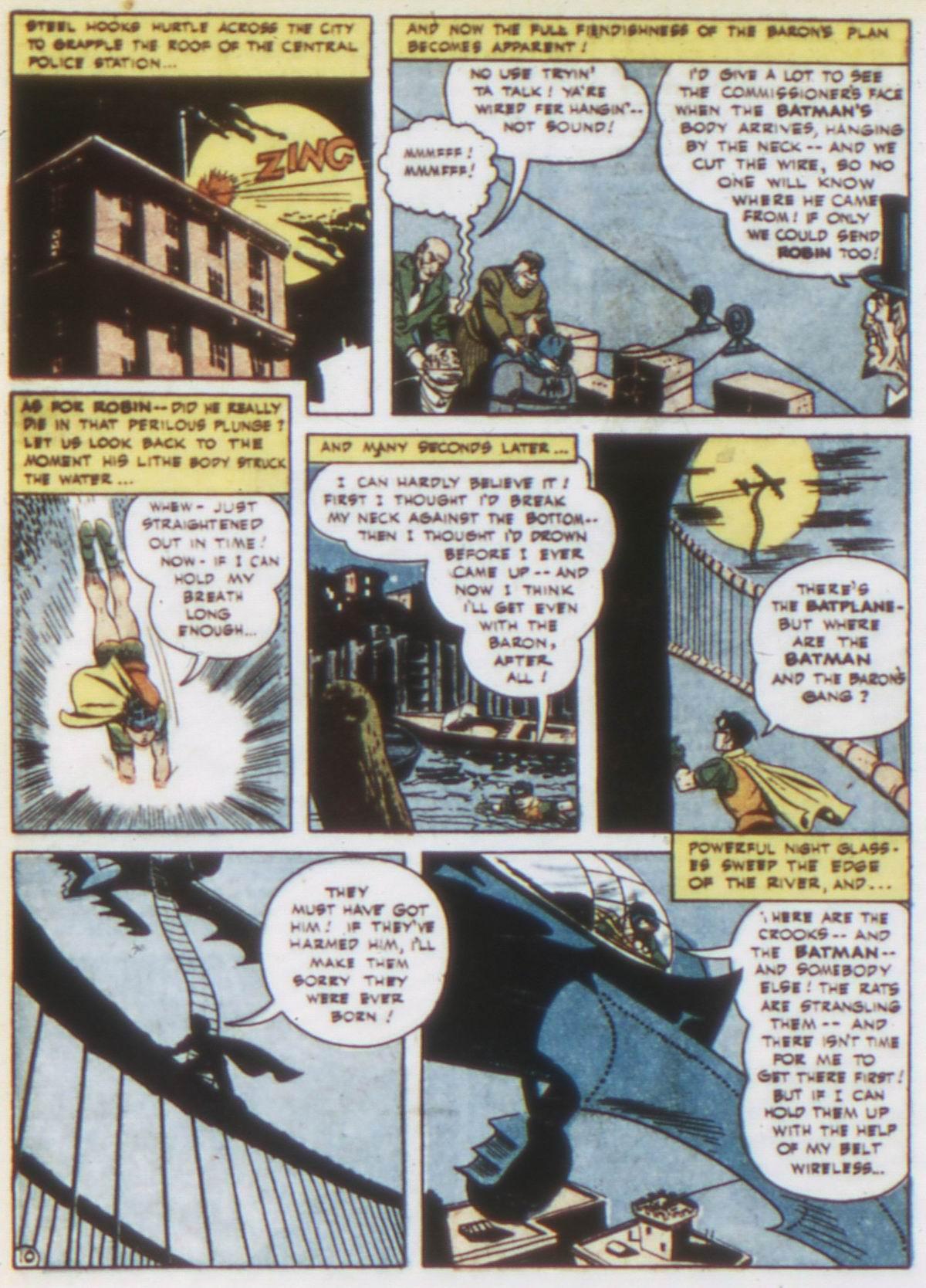 Read online Detective Comics (1937) comic -  Issue #75 - 12