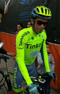 Marcha Alberto Contador Cuenca 2016