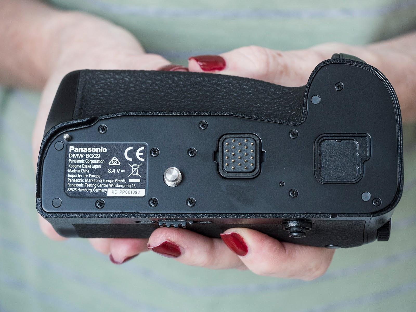 Батарейный блок Panasonic DMW-BGG9 — вид сверху