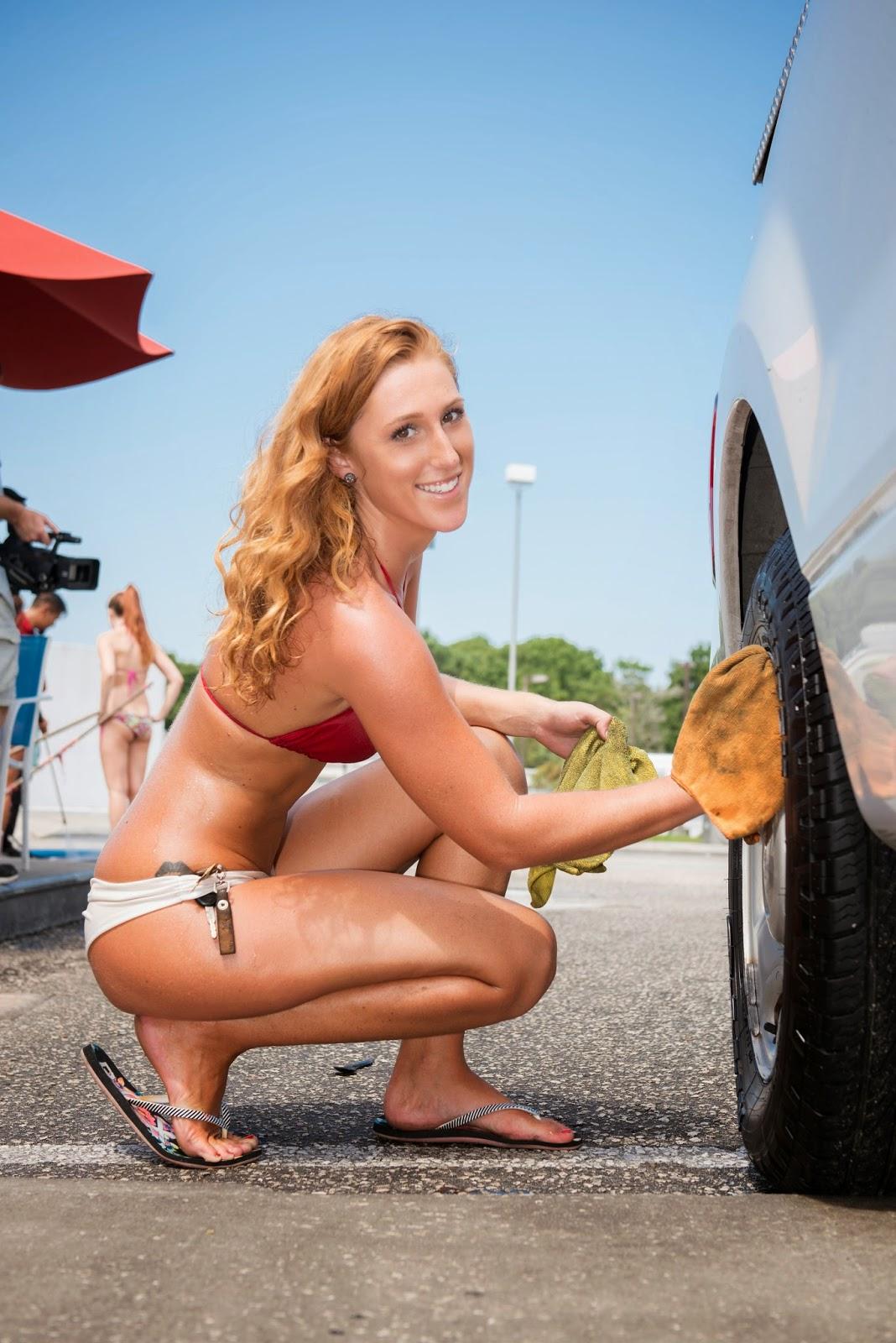 Orlando bikini car wash