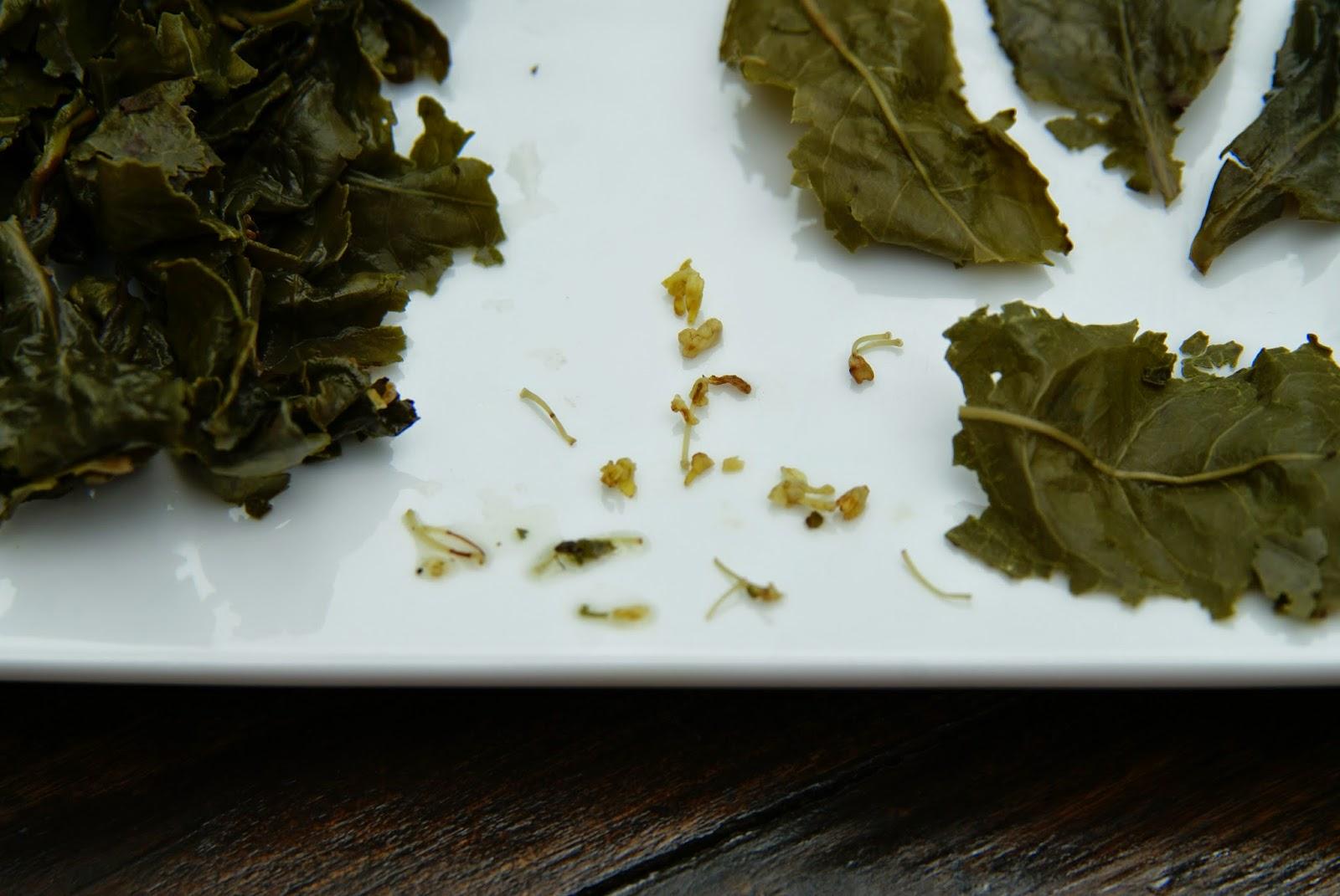 thé parfumé à la fleur d'osmanthe