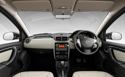 2016 Nissan Terrano AMT interior