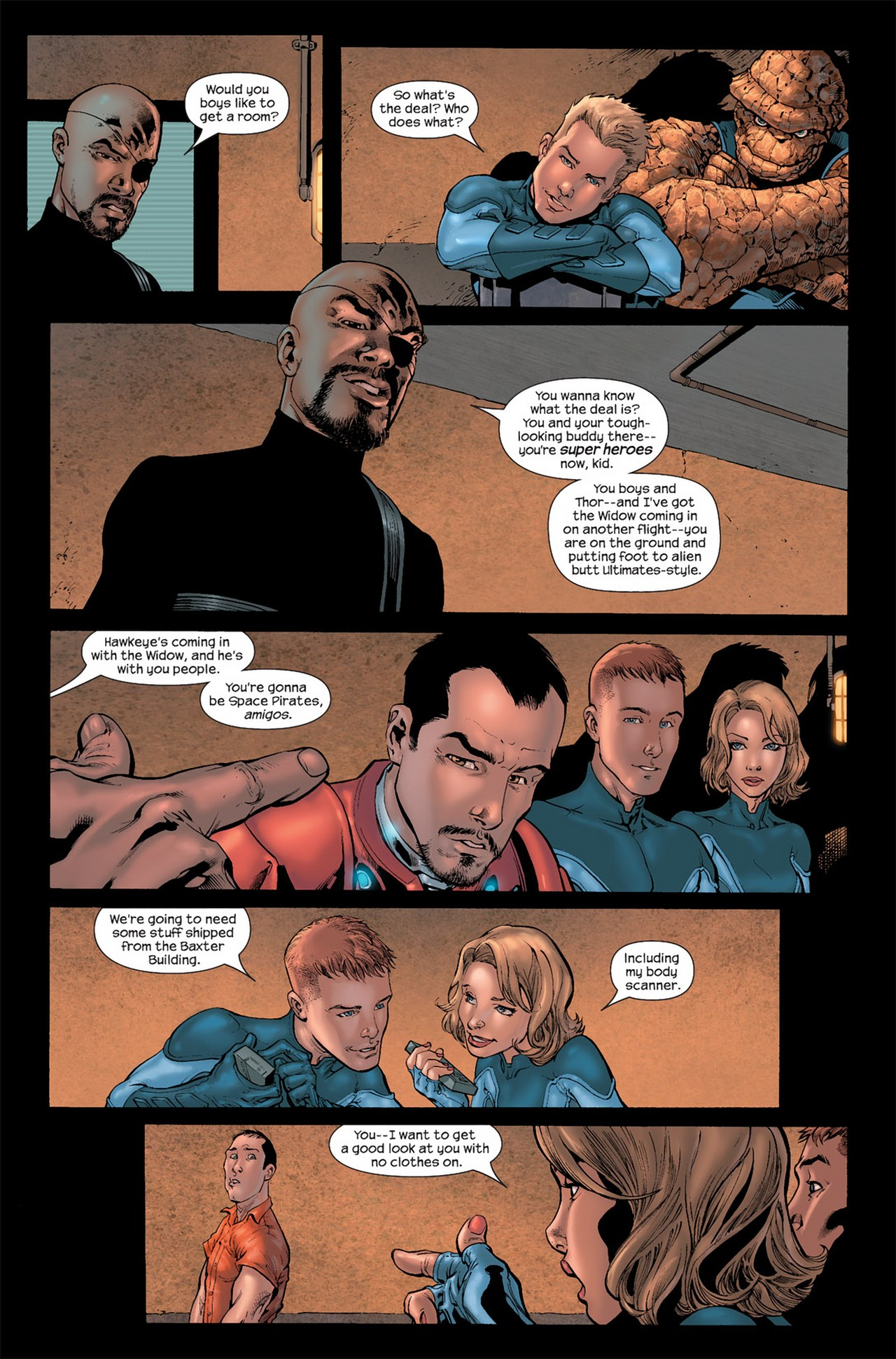 Read online Ultimate Secret comic -  Issue #3 - 9