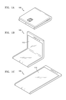 Samsung flexible display patent application