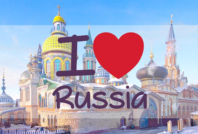 L'amour de la Russie