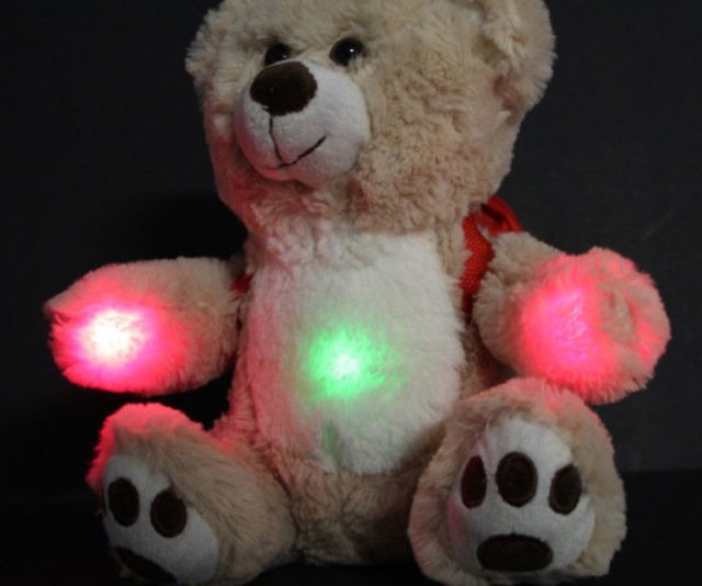 BooBuddy is the interactive ghost hunting bear that provides a lot more than just snuggles. This cuddly paranormal investigator detects changes in electromagnetic fields, temperature, and vibration to inform you if any spirits may be near by.