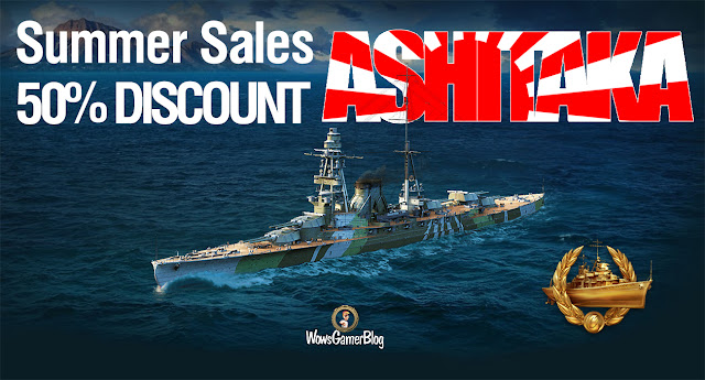 WORLD OF WARSHIPS ashitaka DISCOUNT