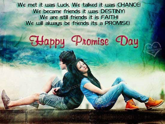 funny promise day messages