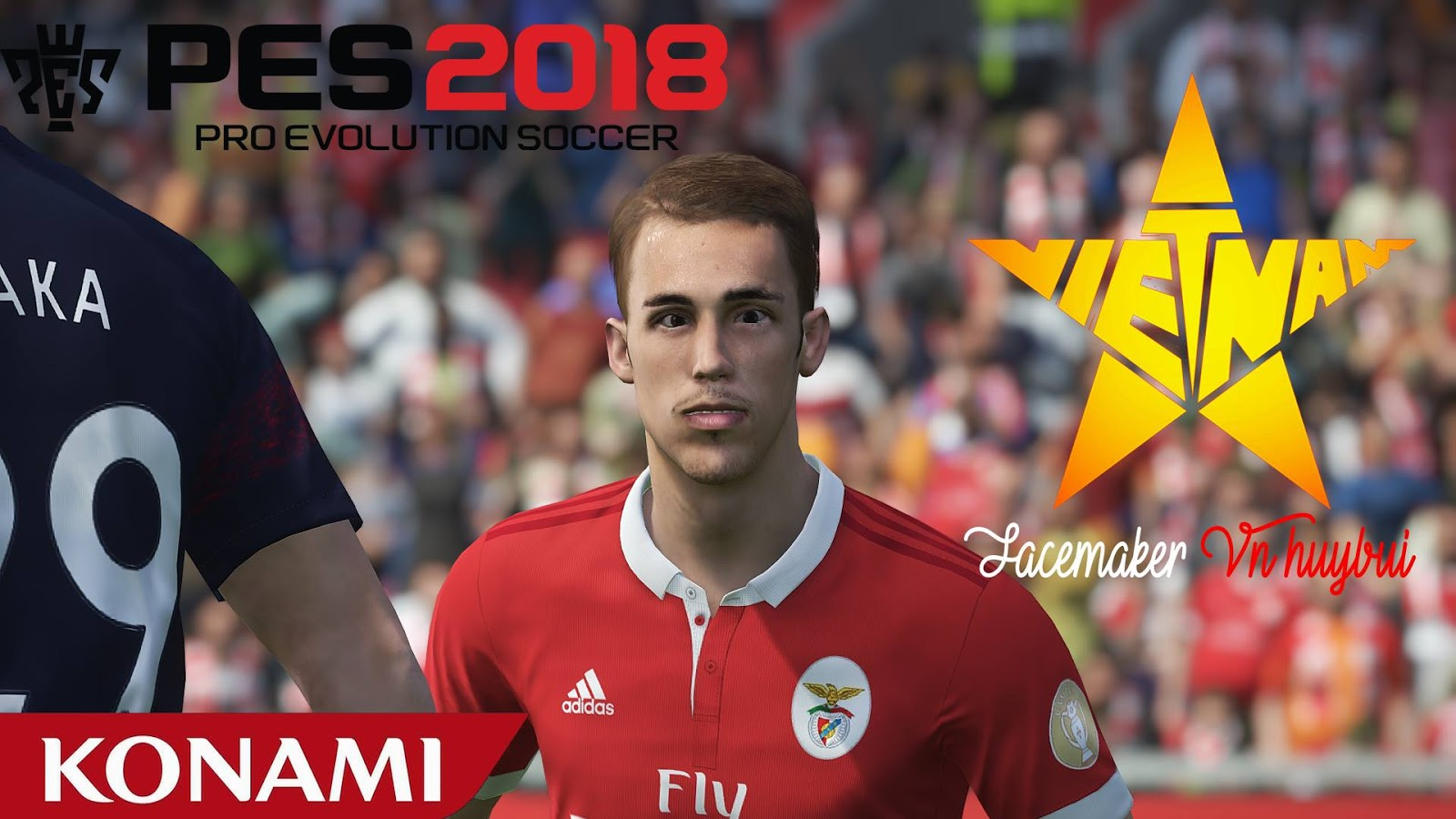 PES 2018 Alex Grimaldo Face by Facemaker VN HUY BUI