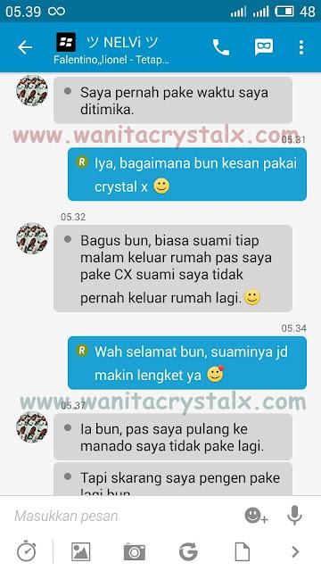 crystal x obat keputihan alami