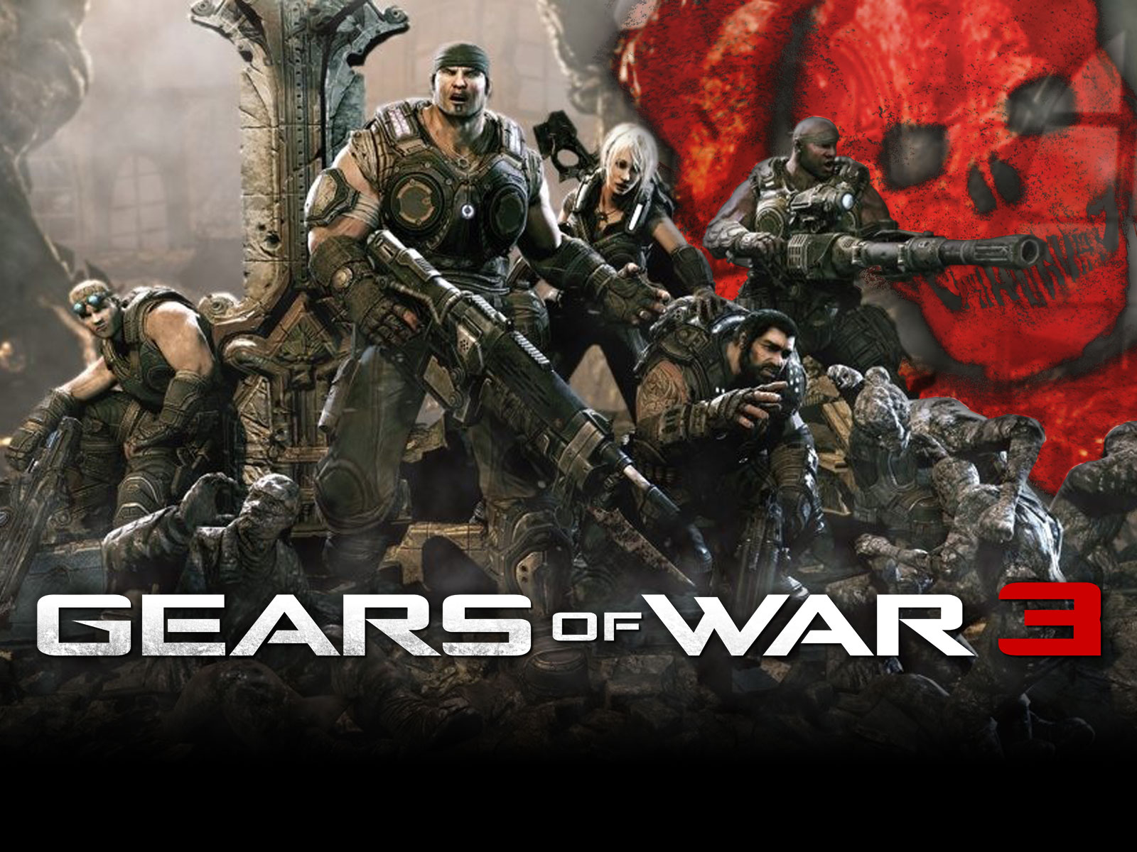 Gears Of War 3 Wallpapers: Games Extremos: Gear Of War 3