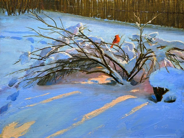 Традиционная пленэрная живопись. Thomas Buchs