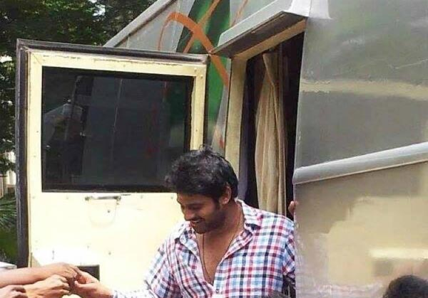Vanity Van Pics Tollywood Celebrities