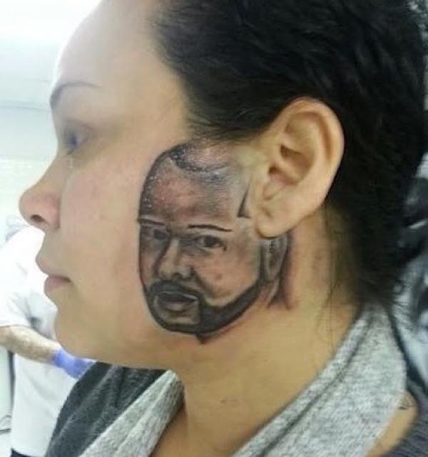 11 pessoas que arruinaram seus rostos com tatuagens horriveis