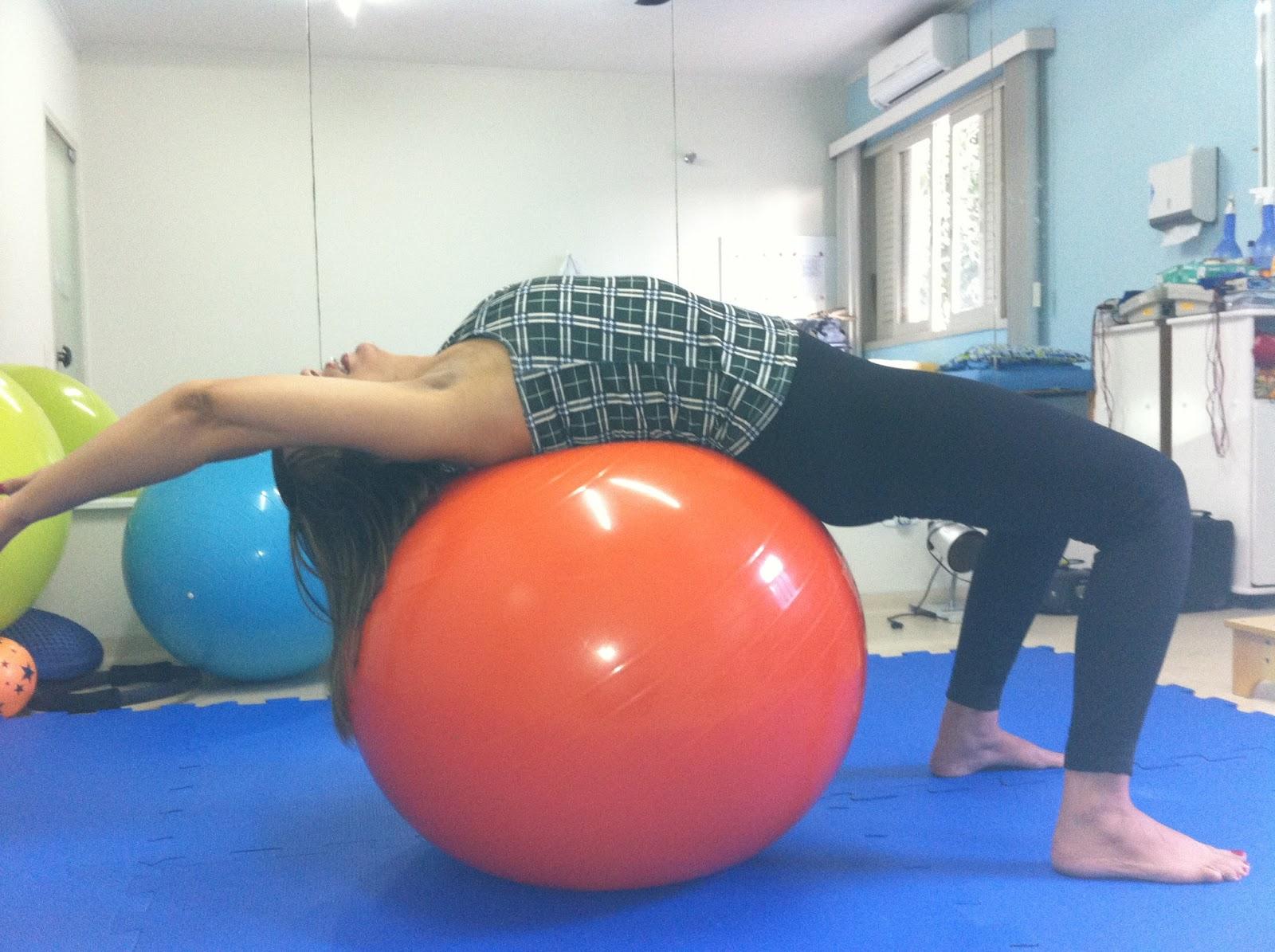 Celina Alves no Pilates
