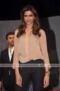 Attractive Deepika Padukone Smile