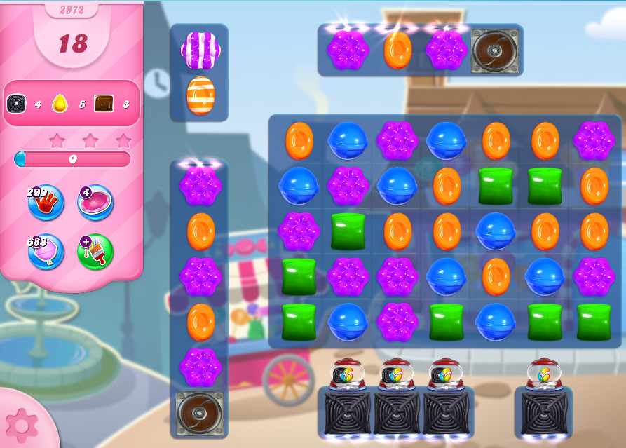 Candy Crush Saga level 2972