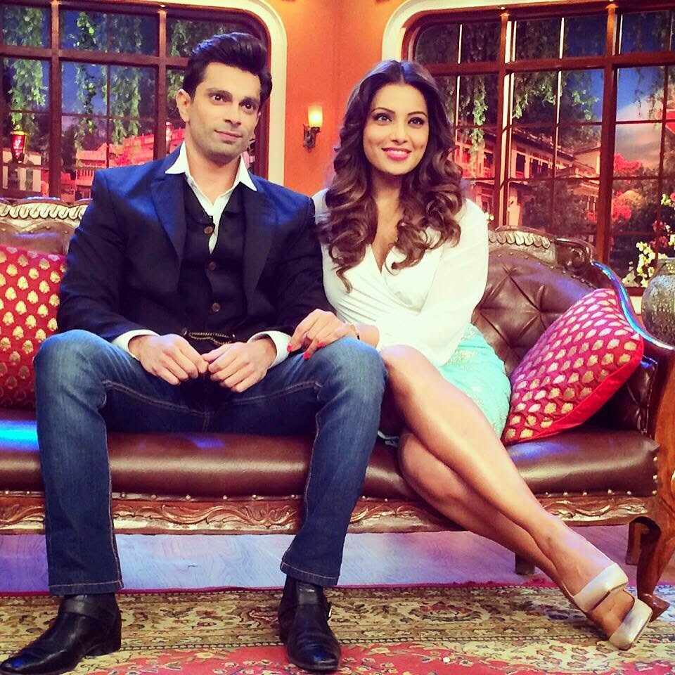 Bipasha Basu at Comedy Nights With Kapil to promote movie Alone