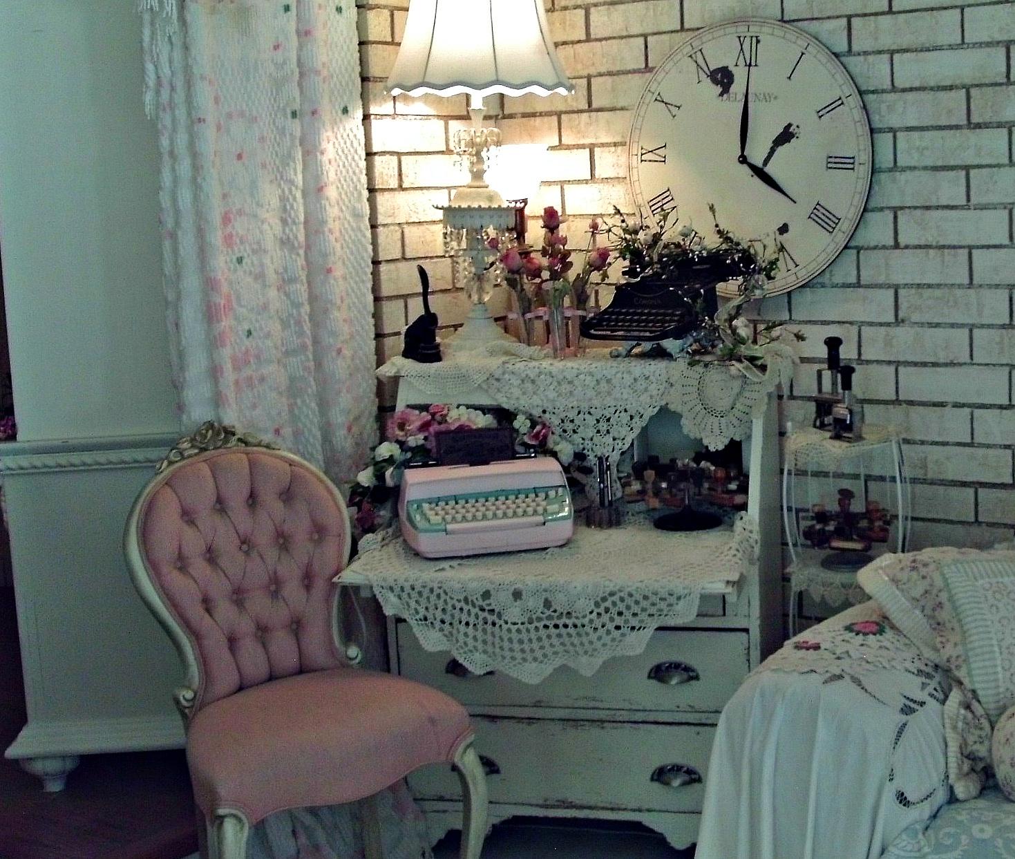 romantizm-vintage-dekorasyon-daktilo