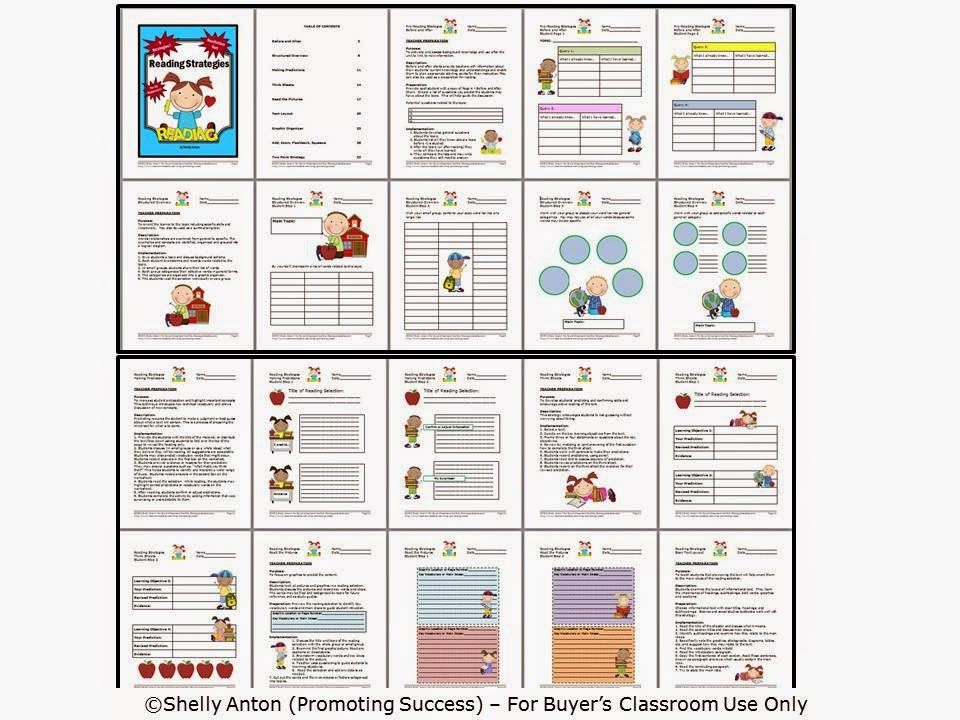 Reading Skills And Strategies Worksheet. Lesupercoin Printables ...