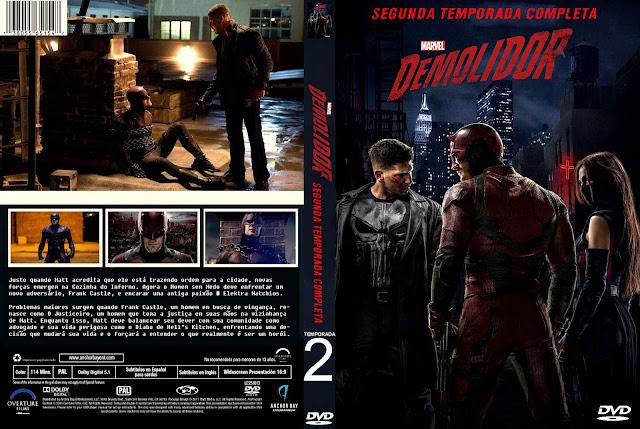 Capa DVD Demolidor Segunda Temporada Completa