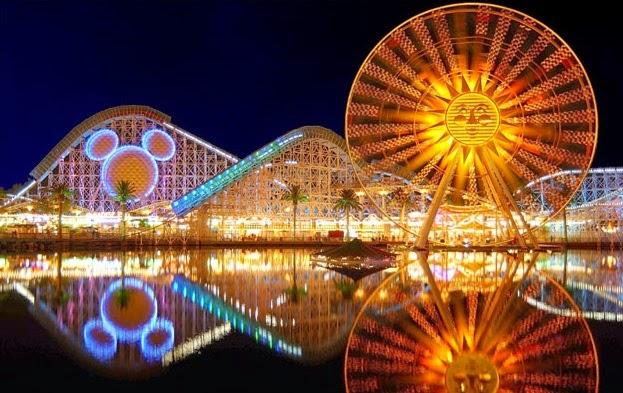 Quais são os parques de diversões da Califórnia?