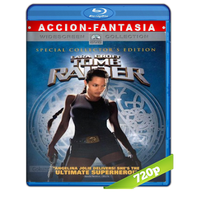Lara Croft Tomb Raider (2001) BRRip 720p Audio Trial Latino-Castellano-Ingles 5.1