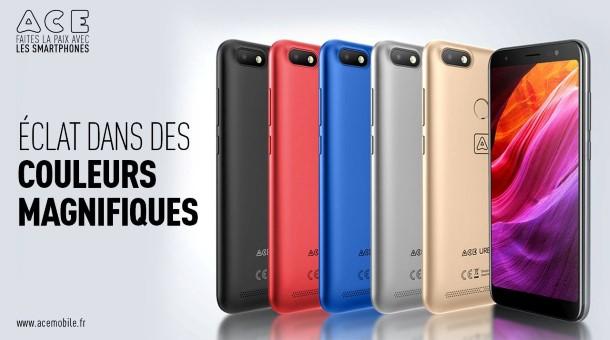 """علامة """"ACE"""" تدخل سوق الهواتف في الجزائر وتطرح تشكيلة متنوعة لكل الفئات"""