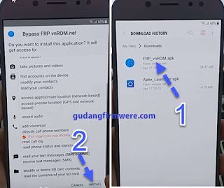 Verifikation Google Account Samsung Galaxy Note 7