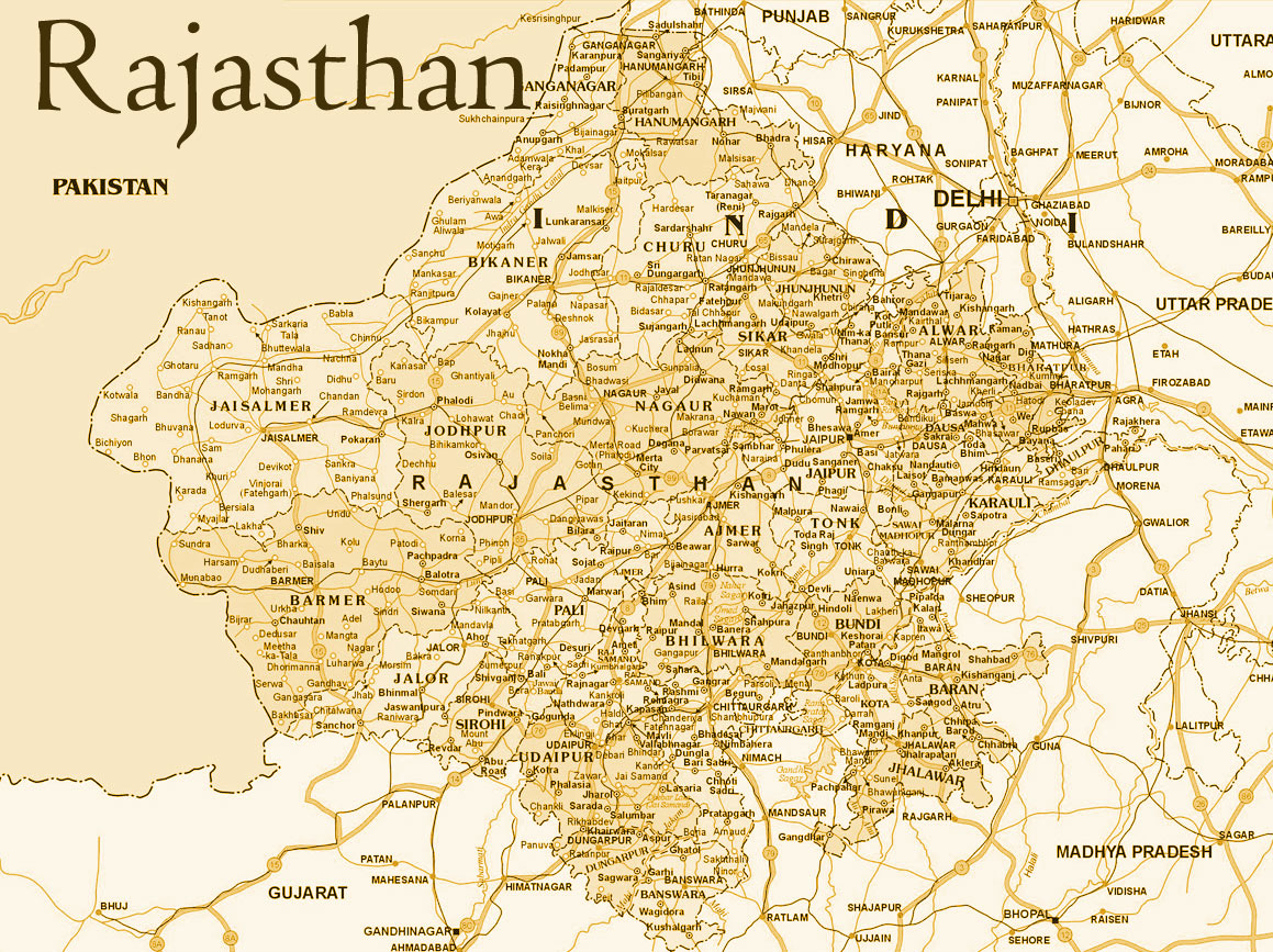 Map india rajasthan map rajasthan altavistaventures Gallery