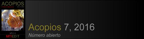 Acopios 7, 2016
