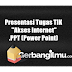 "Presentasi Tugas TIK ""Akses Internet"" .PPT (Power Point)"